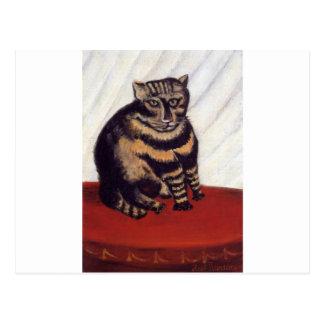 El Tabby de Henri Rousseau Tarjetas Postales