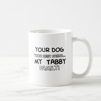 El Tabby es diseños de la familia Taza Clásica