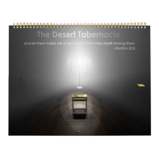 El tabernáculo del desierto calendarios de pared