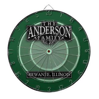 El tablero de dardo de la familia de Anderson
