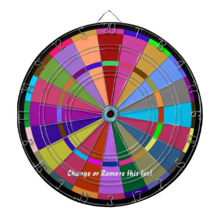 El tablero de dardo multicolor incluye 6 dardos de