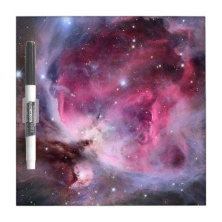 El tablero de la galaxia tablero blanco