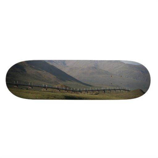 El tablero de la tubería tabla de patinar