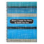 El tablero de resaca raya el diario (personalizado libro de apuntes