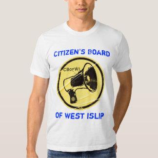El tablero del ciudadano de camiseta del oeste del remeras