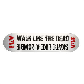 El tablero muerto patines personalizados