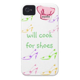 El tacón alto en colores pastel calza fashionista iPhone 4 cobertura