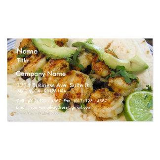 El Tacos de Shimp abona los aguacates de los Burri Tarjetas De Visita