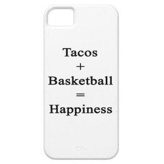 El Tacos más baloncesto iguala felicidad iPhone 5 Carcasa