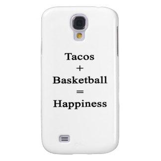 El Tacos más baloncesto iguala felicidad Funda Para Galaxy S4
