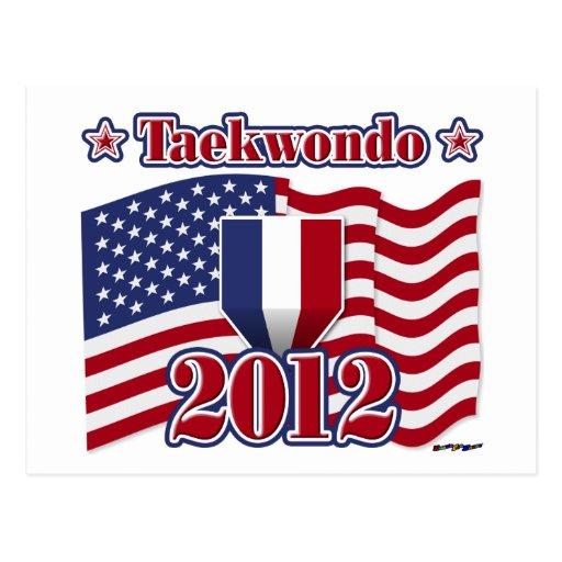 El Taekwondo 2012 Tarjeta Postal