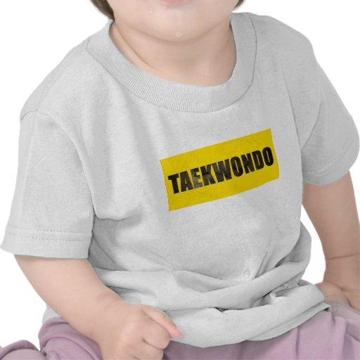 El Taekwondo cinceló el texto Camisetas