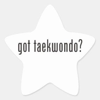 ¿el Taekwondo conseguido Colcomanias Forma De Estrella