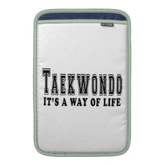 El Taekwondo es manera de vida Fundas MacBook