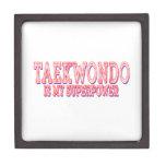 El Taekwondo es mi superpotencia Caja De Regalo De Calidad