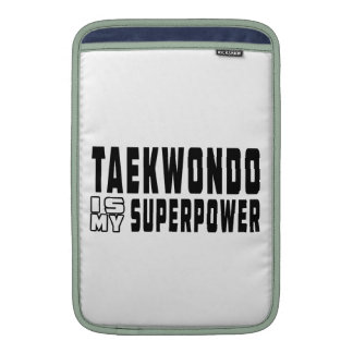 El Taekwondo es mi superpotencia Funda Para Macbook Air