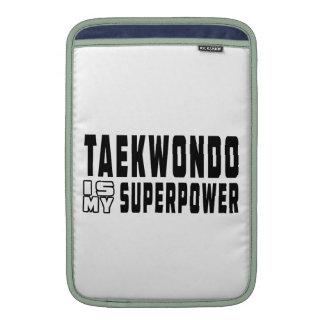 El Taekwondo es mi superpotencia Fundas MacBook