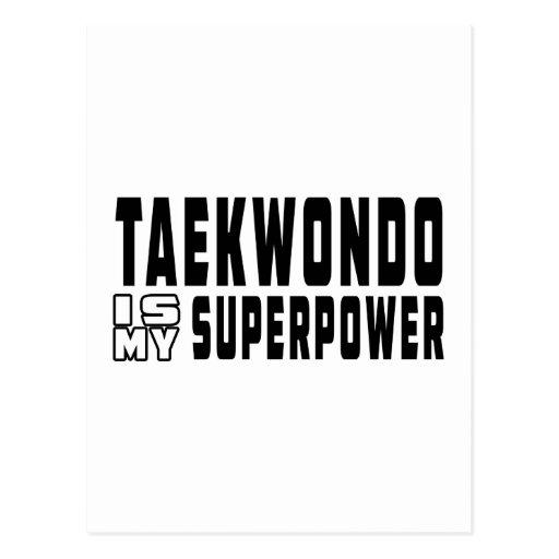 El Taekwondo es mi superpotencia Postal
