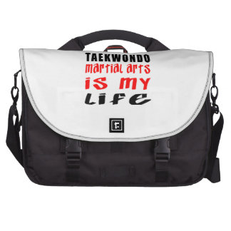 El Taekwondo es mi vida Bolsa De Ordenador