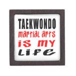 El Taekwondo es mi vida Cajas De Recuerdo De Calidad