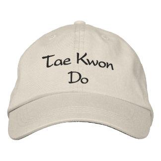 El Taekwondo - gorra de béisbol de piedra