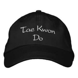 El Taekwondo - gorra de béisbol