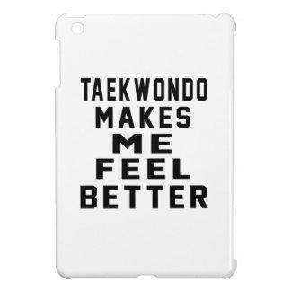 El Taekwondo hace que siente mejor