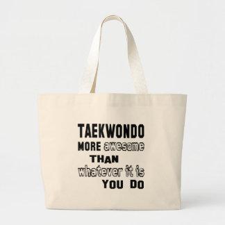 El Taekwondo más impresionante que lo que es usted Bolsa Tela Grande