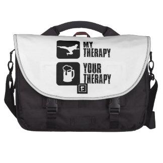 El Taekwondo mi terapia Bolsas De Portatil