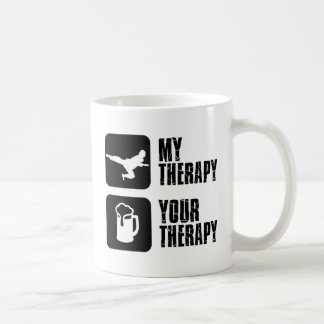 El Taekwondo mi terapia Taza