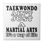 El Taekwondo no es apenas los artes marciales Teja Cerámica