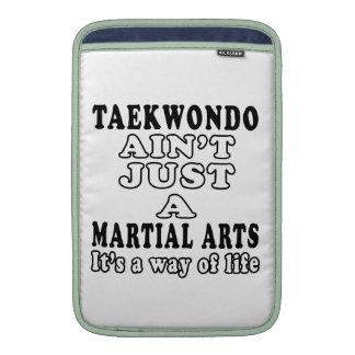 El Taekwondo no es apenas los artes marciales Funda Macbook Air
