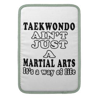 El Taekwondo no es apenas los artes marciales Funda Para Macbook Air