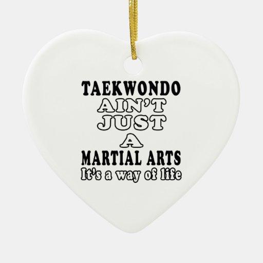 El Taekwondo no es apenas un juego que es una mane Adorno De Navidad