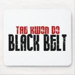 El Tai Kwan hace karate de la correa negra Tapetes De Ratón