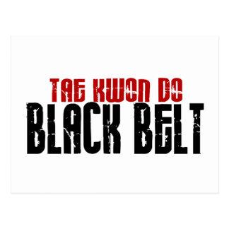 El Tai Kwan hace karate de la correa negra Tarjetas Postales