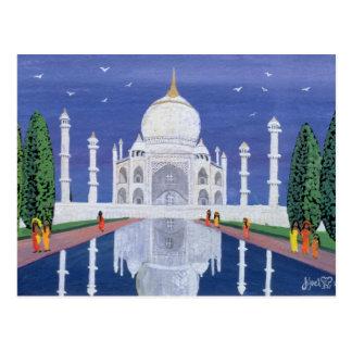 El Taj Mahal 1995 Tarjeta Postal