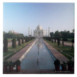 El Taj Mahal 7 Azulejo Cuadrado Grande