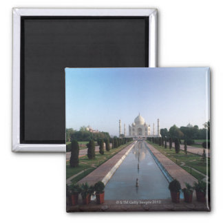 El Taj Mahal 7 Imán Cuadrado