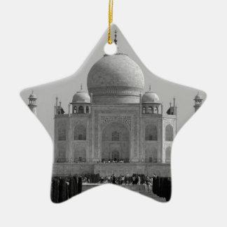 El Taj Mahal Adorno Navideño De Cerámica En Forma De Estrella