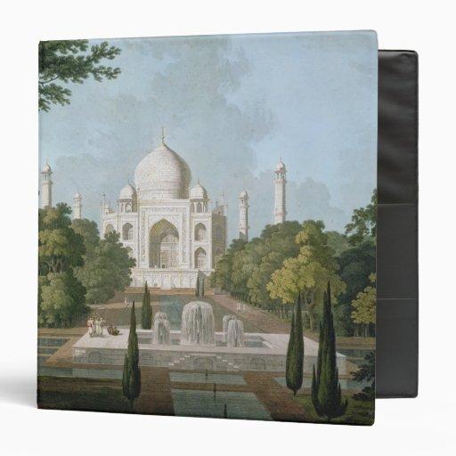El Taj Mahal, Agra, del jardín