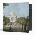 """El Taj Mahal, Agra, del jardín Carpeta 1 1/2"""""""