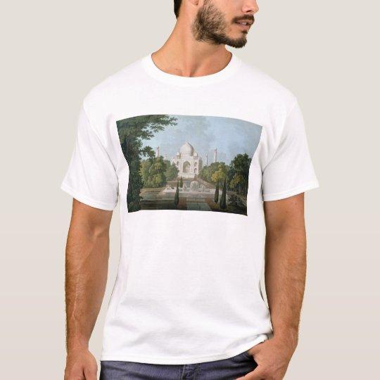 El Taj Mahal, Agra, del jardín Playera
