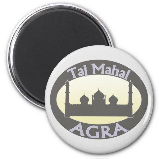 El Taj Mahal Agra Iman Para Frigorífico
