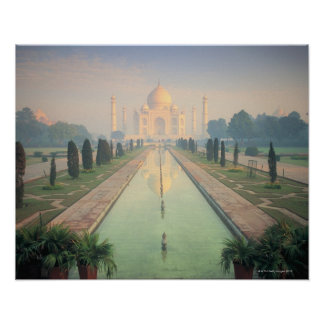 El Taj Mahal Agra la India 2 Posters