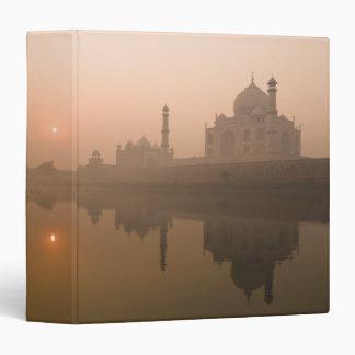 """El Taj Mahal, Agra, la India Carpeta 1 1/2"""""""
