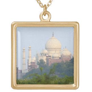 El Taj Mahal, Agra, la India Collar Personalizado