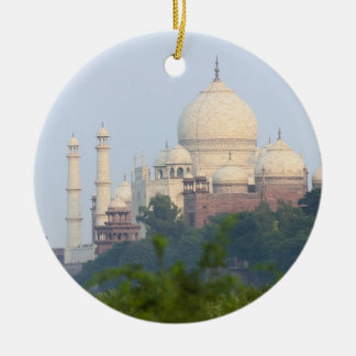 El Taj Mahal Agra la India Ornamento De Navidad