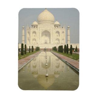 El Taj Mahal, Agra, la India Imán Rectangular