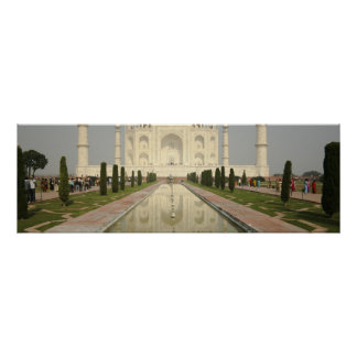 El Taj Mahal Agra la India Impresiones